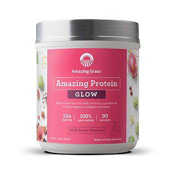 Amazing Grass GLOW Vegan Protein Powder Product
