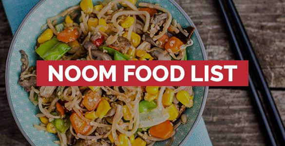 Noom food list Featured Image